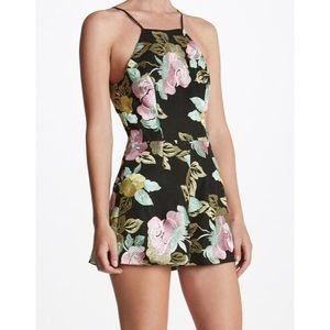 "NWT Dress the Population ""Ella"" Romper"